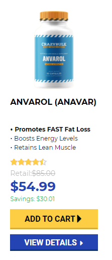 Anavar weight loss steroids